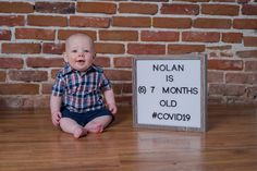 Denver Baby Photography - Nolan Photography by Katie Corinne Photography Because of the pandemic, Nolan's six month Denver baby photography session was actually when he was seven months. Whoops! Six Month, 6 Month Old Baby, 7 Month Olds, 1 Year Olds, Newborn Session, Newborn Photos, 7 Months, Happy Baby, Cute Kids