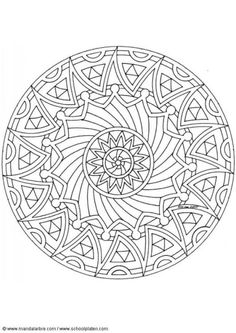 524 Best Mandala Coloring Pages Images On Pinterest