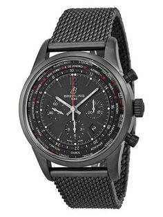 Breitling Men's Transocean Unitime Pilot Automatic Watch