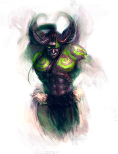 Some Warcraft goodies lying on my hard-drive Illidan in his half demon form FIND ME ANYWHERE! [TUMBLR]  [DRAWCROWD] [PIXIV] [ZBRUSHCENTRAL]  [FACEBOOK]  &n...
