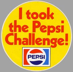 Pepsi Challenge Sticker - Early 1980's by JasonLiebig, via Flickr
