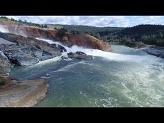 Oroville Dam UPDATE 4/19/2017 5:00 PM New Drone Fly Over