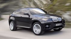 BMW X6: another attempt at a sportscar/SUV crossover in this group - can you spot a trend? Suprisingly good on the road but useless off it on anything more than wet grass. Back is cramped and unpleasant. The car is expensive and drinks like a fish. A car for the times? BMW, what were you thinking?