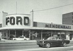 Circa 1964, Ford dealer at 2231 Washington Ave, St. Louis, MO. Now the site of Enterprise Rent-A-Car (2014).