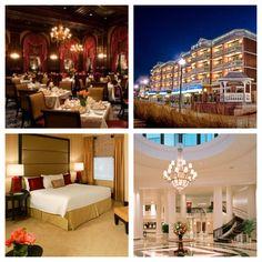 2013 AAA Four Diamond® Award recipients in Delaware - The Green Room in the Hotel du Pont, Boardwalk Plaza Hotel, The Hotel du Pont, Dover Downs Hotel and Casino