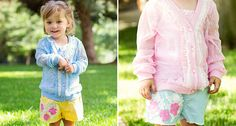 Easy and Stylin' Looks!  Shorts with Flower Detail - FREE SHIPPING ON ALL ORDERS!