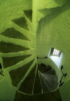 tower steps in Cahir Castle ... County Tipperary, Ireland. Photo by Richard Cummins