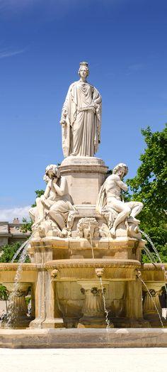 Nîmes ~ Provence ~ France ~ Jardin de la Fontaine