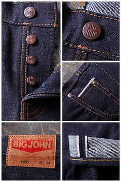 NEW ARRIVAL : BIG JOHN | Pronto denim