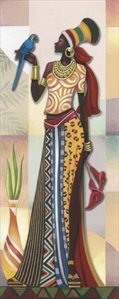 Best Ideas For Black Art Painting Love African Americans Pictures African American Art, African Women, Art Afro, Afrique Art, African Art Paintings, Black Art Painting, African Theme, Black Women Art, African Design