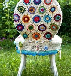Receitas de Crochet: Croche para sentar