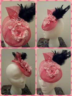 Cherry Blossom Fascinator More Info: https://www.facebook.com/PatriciaCossioTocados
