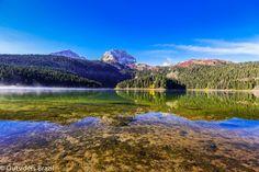 O Black Lake, Durmitor.