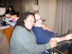 2010 - Jo & Dave Key in the kitchen at Slaley