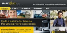 Spark 101 / Interactive Web Design / Branding Agency: HZDG #Design #Branding #HZDG #NonProfit