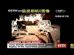 MOON-Chinese rover YUTU separates from Lunar Lander/rover cinese YUTU scende dal Lunar Lander full - YouTube