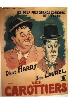 Laurel And Hardy Movie Poster https://www.youtube.com/user/PopcornCinemaShow