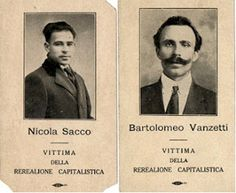 Sacco and Vanzetti: Victims of the Red Scare Allen Ginsberg, First Red Scare, Liberal Views, Mafia Gangster, American Poetry, Social Art, Political Art, Accusations, Revolutionaries