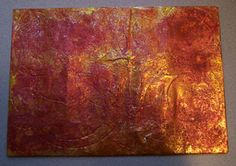 Mixed Media Artist: Tutorial Painted foil backgrounds. http://www.mixed-media-artist.com/2007/07/painted-foil-backgrounds.html#