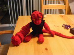Hellboy Amigurumi! - CROCHET