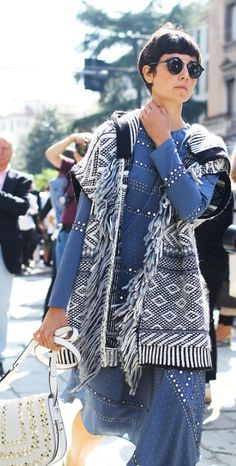 Phil Oh's Fashion Week Street Style: Spring 2016 Ready-to-Wear 90s Fashion Grunge, Denim Fashion, Fashion Outfits, Fashion Trends, Style Fashion, Casual Looks, Spring Outfits, Spring Fashion, Ready To Wear