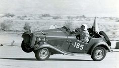 Two-wheel TD. Palm Springs 1960.