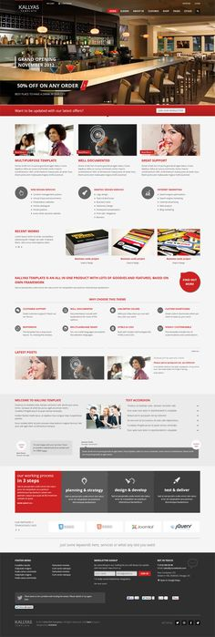 KALLYAS, Joomla Responsive Multi-Purpose Template