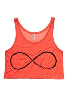 One Direction Infinite Directioner Cropped Tank Top by SoulClothes, $20.00