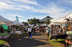 Maui Swap Meet - Kahului - Sat 9am-1pm. An absolute must!!! The best place to shop & get souvenirs. Wholesale prices. You pay triple for the exact same items on Front St. Bring water & wear a hat & sunscreen cause it gets smokin'hot! I like to follow with a visit to Geste Shrimp Truck in the harbour. So yummy!
