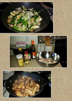 Japanese soy chicken &  mixed green veggies with mushroom
