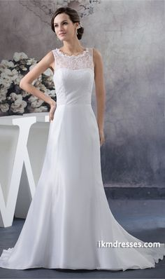 http://www.ikmdresses.com/Hourglass-A-Line-Natural-High-Neck-Puddle-Train-Wedding-Dress-p20618