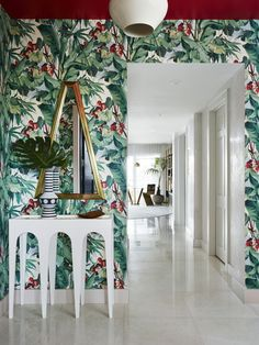 bold tropical wallpa