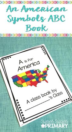 Teach students about United States symbols and being American with this FREE ABC symbols book. This is a perfect addition to your social studies unit for kindergarten, first grade, and second grade.