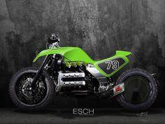 Ottonero Cafe Racer: PowerTracker / - ESCH automotive design