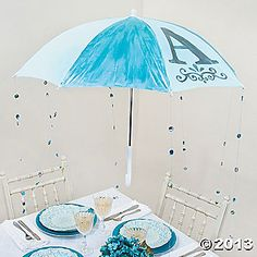 Baby Shower Umbrella Decoration