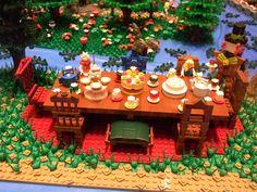 Lego Alice in Wonderland Tea Party.