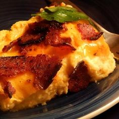 I'd probably add mustard powder, and some scallions...Erik's Cheesy Cauliflower Casserole - Allrecipes.com
