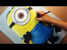 Speed Drawing: Stuart (Minions) | Diana Díaz - YouTube