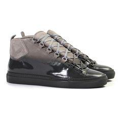 3a098531ded556 Balenciaga Black Fade Arena High Sneakers  sneakers  balenciaga  freshness  Anziehen