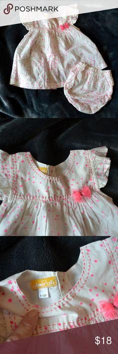 Girls BE European boutique dress 6 8 10 12 NWT orange blue ruffle plaid UA