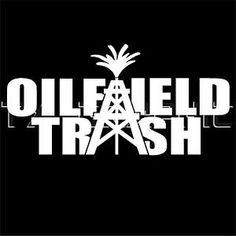 Oilfield Trash Sticker Roughneck Oilrig Drilling Pipeline Vinyl ... Oilfield Trash, Oilfield Wife, Boat Decals, Vinyl Decals, Oilfield Quotes, Oil Rig, Silhouette Machine, Vinyl Projects, Ford Trucks