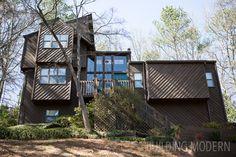 Building Modern 1980 Contemporary Cedar Sided House