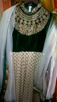 A step towards the #Exotic colour combination more to come. stay tune people #bridesmaiddress  #indowestern #indian #philicia #traditional #ethnic #metallicembroidery #handembroidery  comment or message us more more information (no reference picture or re-pin,100%original picture and our own designs)