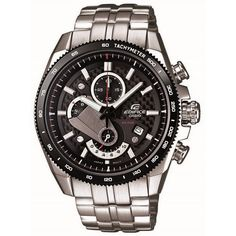 5c3dcac630c The sporty Casio EFR-513S watch endorsed by Sebastian Vettel! R2315! Casio  Edifice