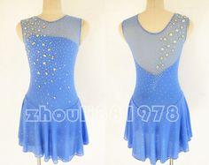 Custom Ice figure skating competition dress girls Baton Twirling Costume Y033