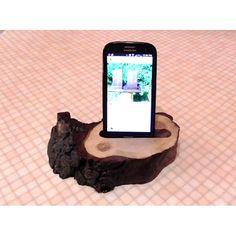 """Подставка для мобильного телефона """"Дубовый срез"""""""
