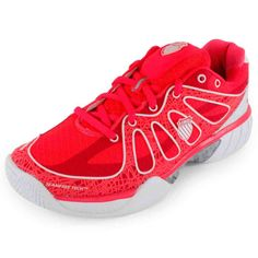 9b550ca0c452 Womens Red Tennis Shoes Chaussures De Tennis Blanches, La Fille En Rouge,  Coups De