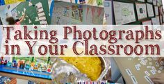 The French Corner: Taking Photos in Your Classroom