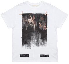 Caravaggio print T-shirt Caravaggio, Stripe Print, Large Black, Black Stripes, Off White, Classic T Shirts, Prints, Mens Tops, Tees