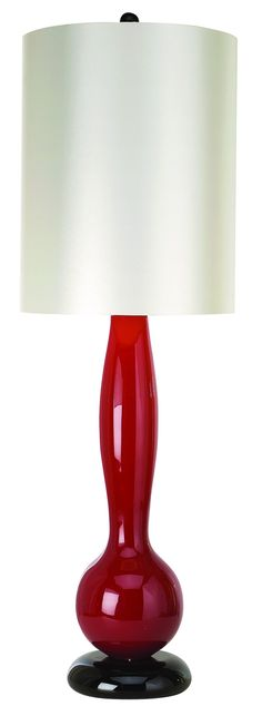 Trend Lighting (TT5210) Isis Table Lamp shown in Ebony Lacquer
